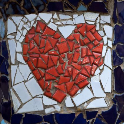 affordable therapy toronto heart mosaic